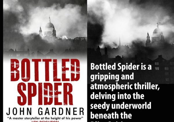 Bottled Spider on Kindle from Endeavour